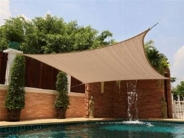 Tenda da sole per piscina