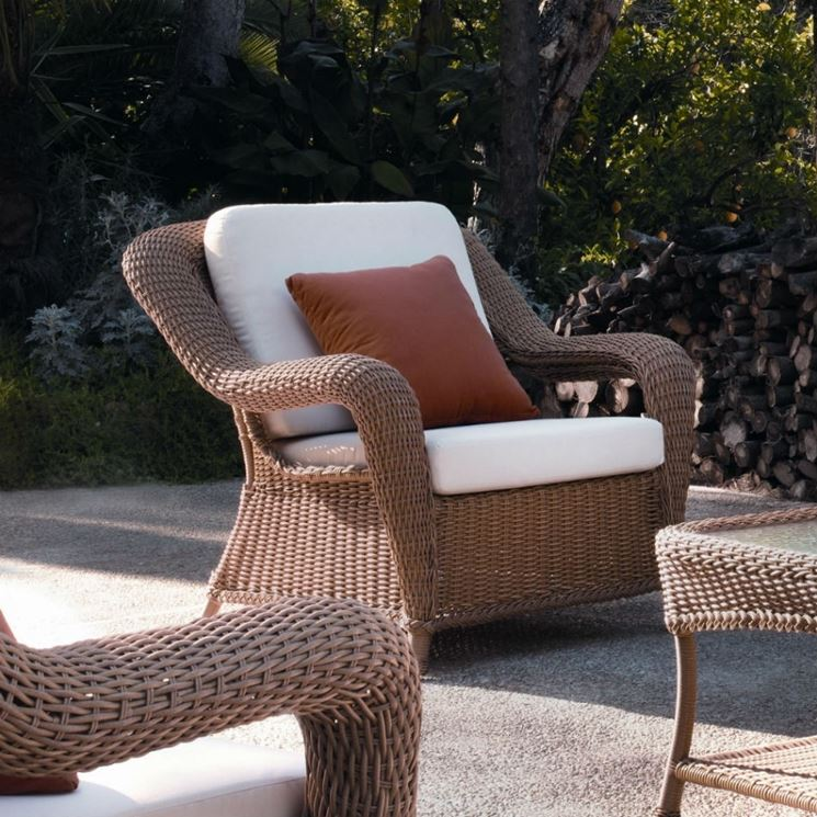 poltrone in rattan da giardino mobili giardino poltrone da giardino in rattan. Black Bedroom Furniture Sets. Home Design Ideas
