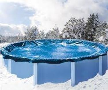 Coperture invernali per piscine accessori piscine for Teli per piscine interrate