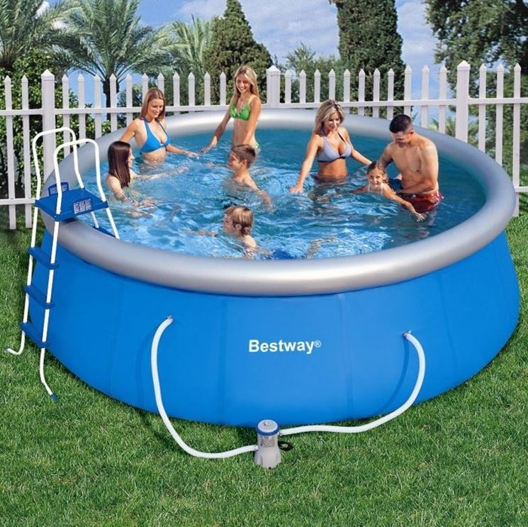 piscina gonfiabile intex